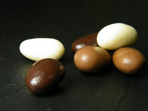 Mandeln Schokoladenmischung