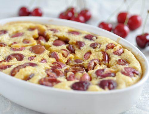 Marzipan-Kirsch-Gratin
