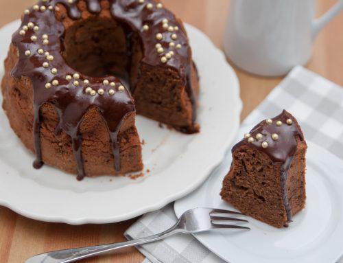 Nougat-Gugelhupf-Kuchen